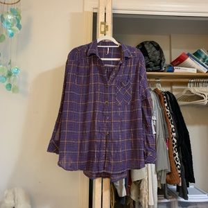 Free People Button-Up